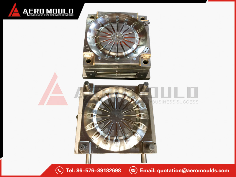 PS fork mould