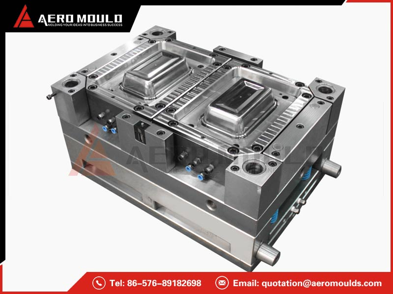 Thin wall food container mould