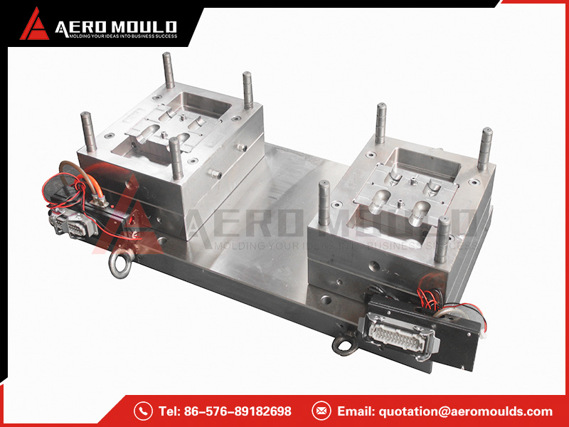 Double color mold maker