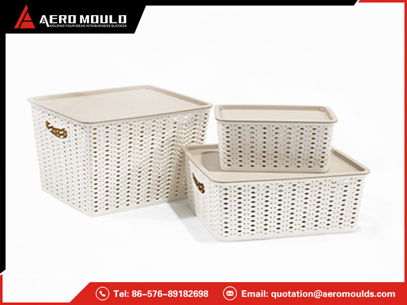 Laundry basket mold