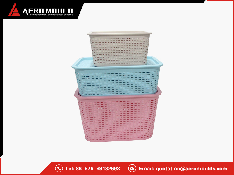 Storage basket mould