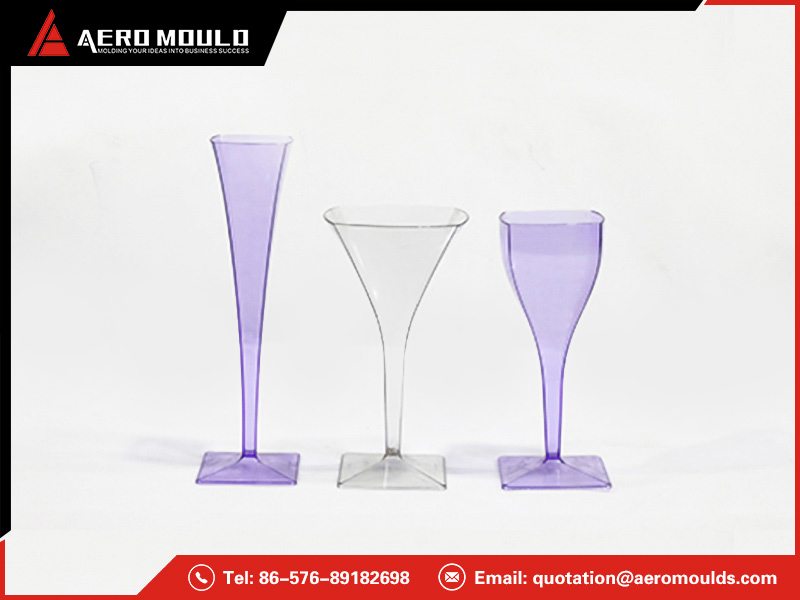 Wine glass mold