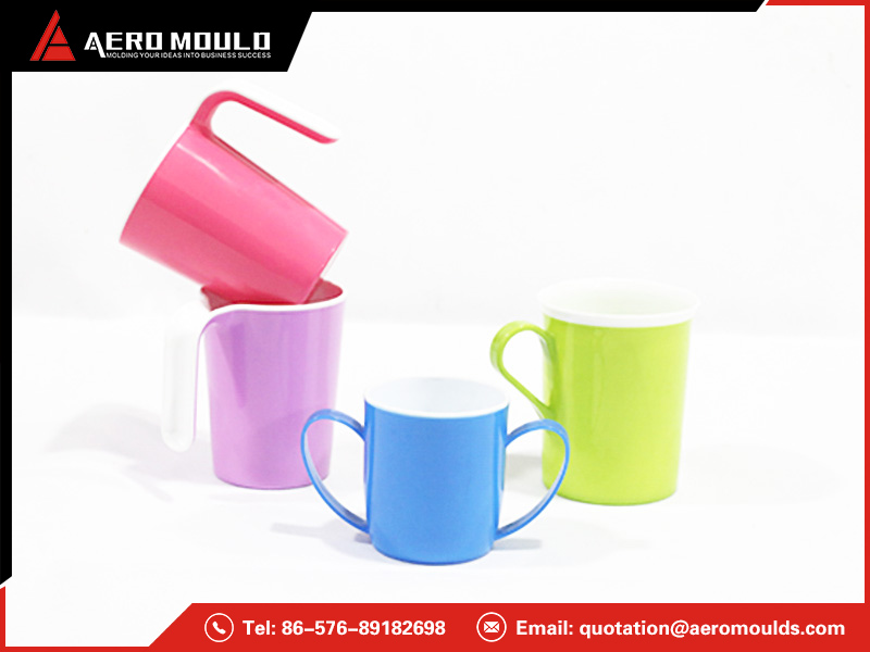 Double color cup mould