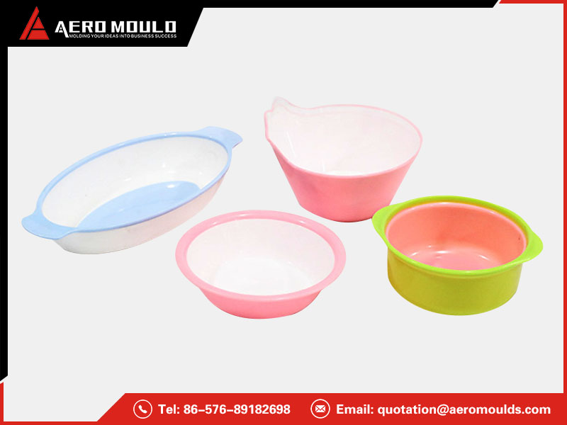 Two shots bowl molds